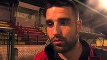 Les réactions d'après match après la rencontre Saint-Priest FC Martigues