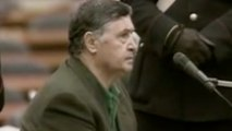 Toto Riina affirme ne pas appartenir à Cosa Nostra lors de son procès