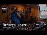Secretsundaze Boiler Room London Studio DJ Set