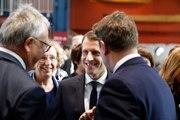Intervention du Président de la République, Emmanuel Macron, lors du sommet social européen de Göteborg, Suède