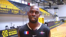 L'interview de Mamadou Dia, capitaine de Fos Provence Basket