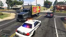 GTA 5 PC - LSPDFR - HIGHWAY SHERIFF - LSPD Police Mod Gameplay