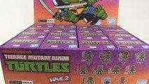 Loyal Subjects Teenage Mutant Ninja Turtles Wave 2 Action Vinyls Mini Figures Unboxing & Review