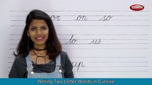 Two Letter Words | Three Letter Words | Four Letter Words | Cursive Writing Price For Children