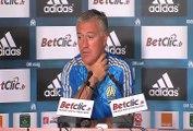Avant d'affronter Saint Etienne demain, Didier Deschamps revient sur le début de saison