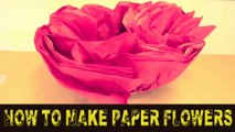 How to Make Paper Flowers| paper Craft| DIY paper art| paper flower making tutorial | how to make paper flower step by step | paper flower for christmas | paper flower for wall