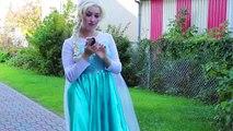 Frozen Elsa Gets BIG EARS spell! w_ Joker Fairy Godmother Spiderman Superheroes Fun in real life IRL | Superheroes | Spiderman | Superman | Frozen Elsa | Joker