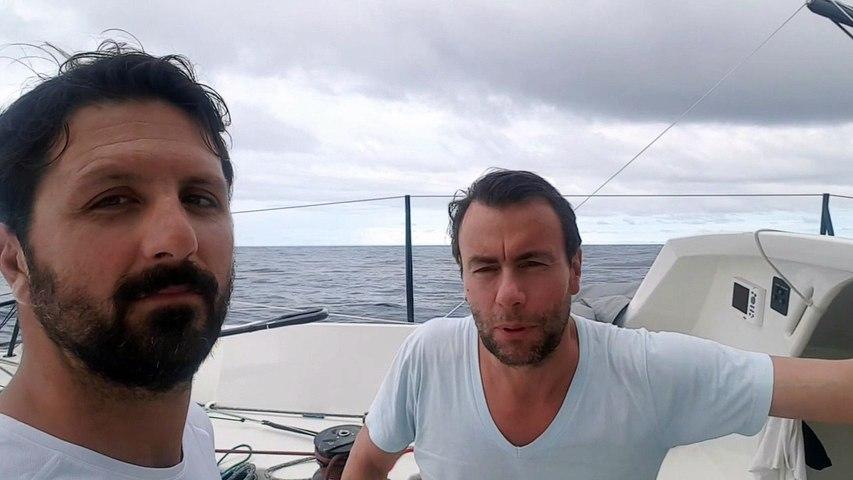 TJV2017 - Vivo A Beira : Yoann Richomme et Pierre Lacaze - 18/11/2017