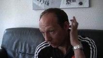 Yann Lachuer ancien milieu de terrain du PSG