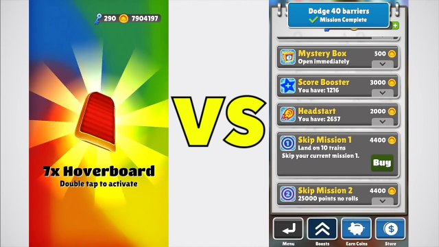 Mystery Boxes VS Super Mystery Boxes on Subway Surfers!