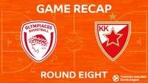 Highlights: Olympiacos Piraeus - Crvena Zvezda mts Belgrade