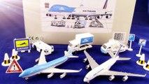 Airport Playset Kokoelma「KLM Air France A380」「British Airways Toy Airport Playset」01591+fi