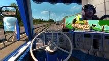 Euro Truck Simulator 2 Scania 143 M V8 Sties 1 Logitech G29
