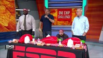 Mike & Mike crew does the 'One Chip Challenge' _ Mike & Mike _ ESPN-zVZh9E7H5c0