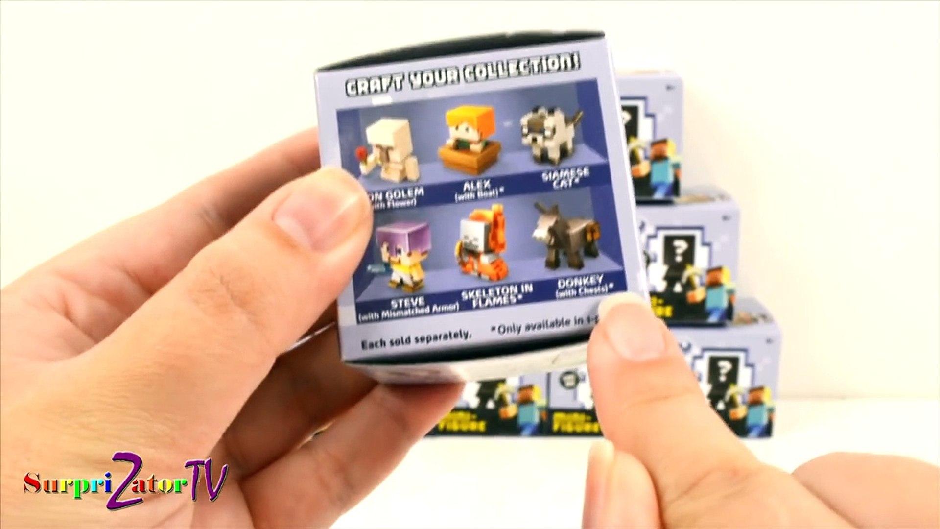Распаковка МАЙНКРАФТ Вся Серия 5 ЛЁД + КОДЫ MINECRAFT Series 5 ICE Mini-Figure FULL SET Codes