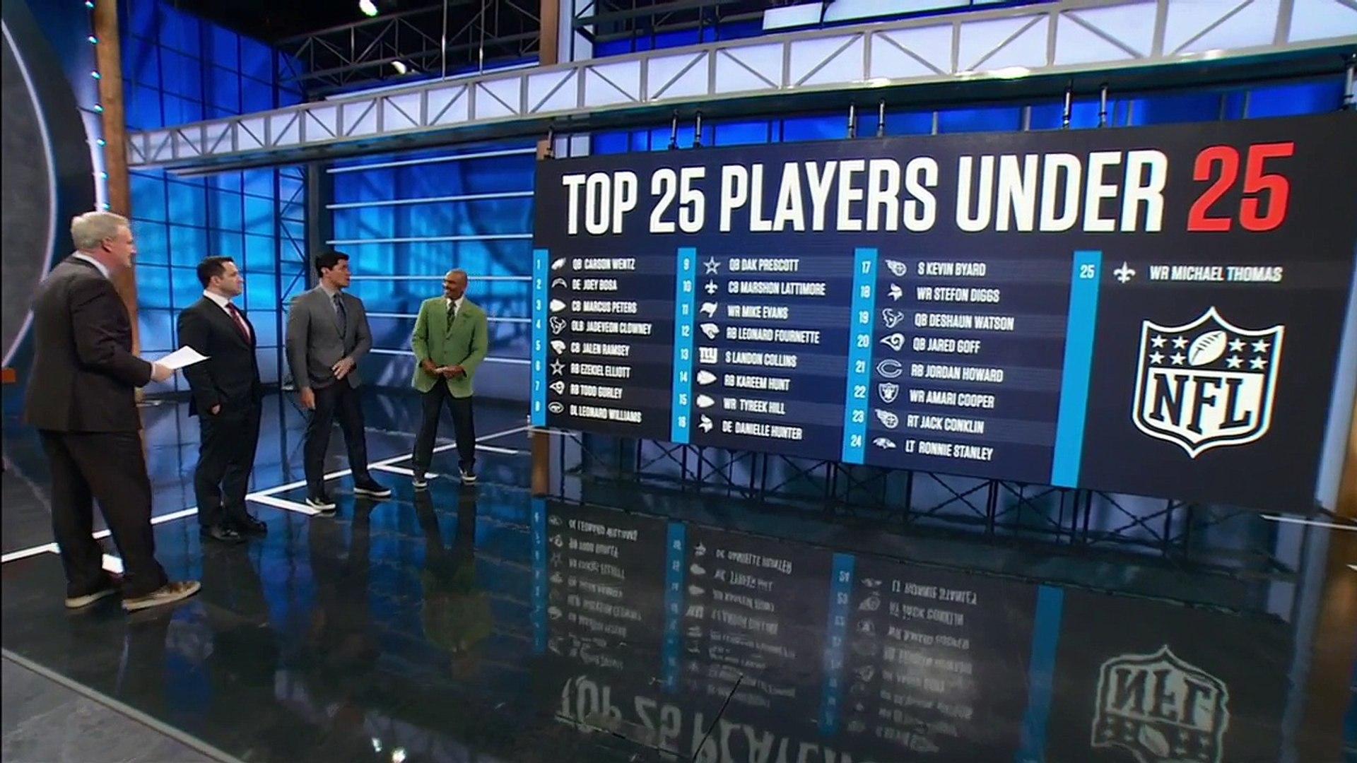 Wentz, Bosa and Elliott highlight top NFL players under 25 _ NFL Live _ ESPN-IZ5AI2o48kM