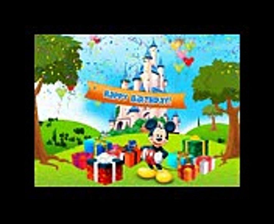 Cancion De Feliz Cumpleaños Mickey Mouse Feliz Cumpleaños Niños Video Dailymotion