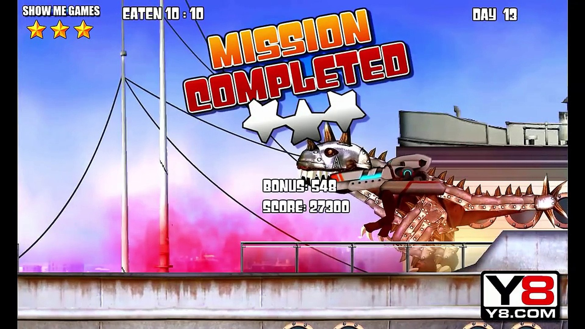 Miami Rex + Dark T-REX - Full Game Play - 1080 HD