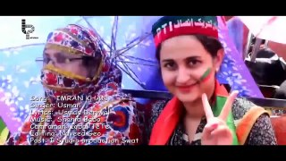 Imran Khan - PTI - Song -  Famous Singer -  Usman Umar Derawal - FUll HD Video
