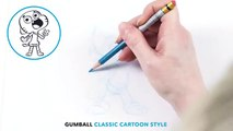 Gumball | If Gumball was Drawn by Hanna-Barbera! | Cartoon Network