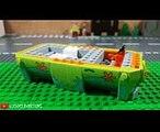 LEGO Scooby-Doo Mystery Machine Set Stop Motion Animation Build