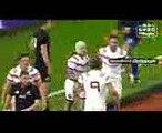 Rugby test matche  France  (23-28) Nouvelle Zélande all blacks  résumé