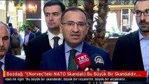 """Bozdağ: """"(Norveç'teki NATO Skandalı) Bu Büyük Bir Skandaldır, Büyük Bir Rezalettir, Büyük Bir..."""