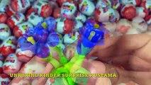 Киндер Сюрпризы,Unboxing a lot of Kinder Surprise Eggs!!! Cars,Распаковка Киндеров
