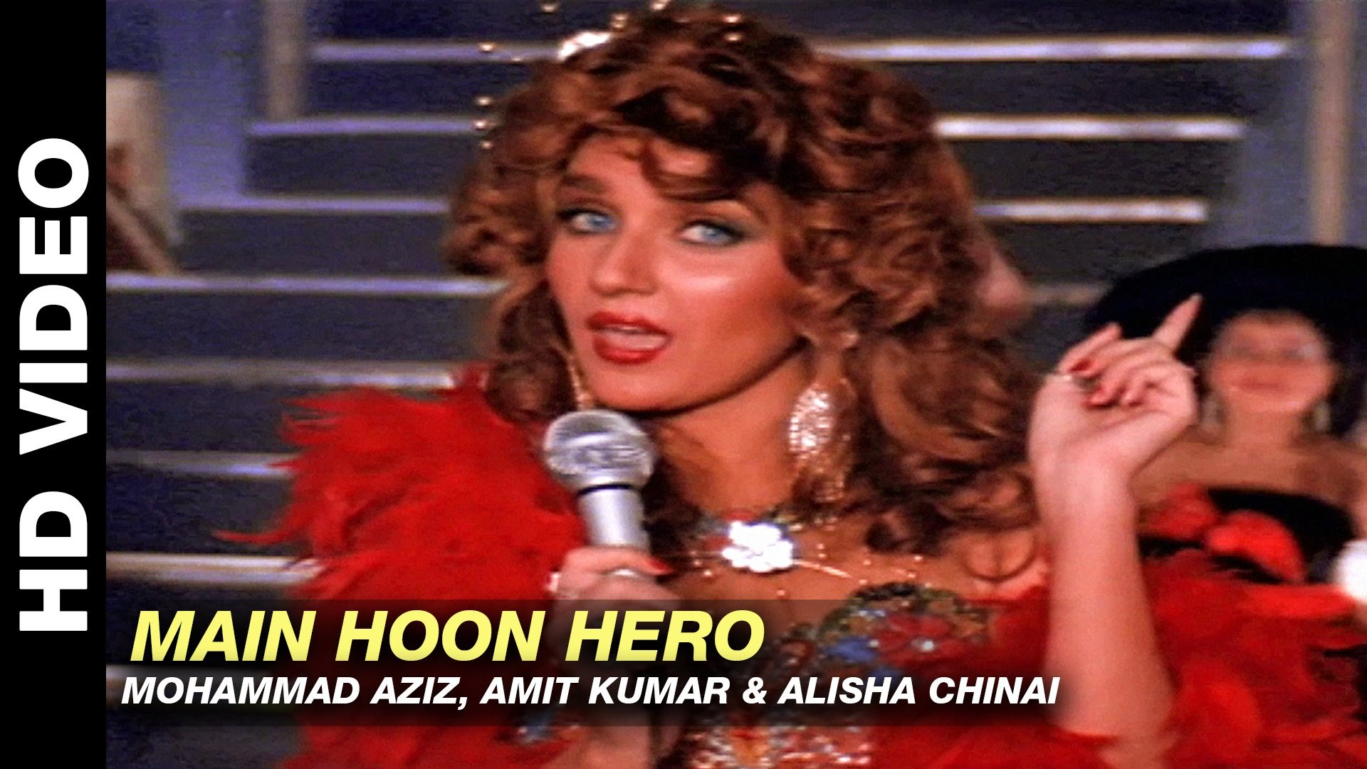 Main Hoon Hero - Ram Lakhan   Mohammad Aziz, Amit Kumar & Alisha Chinai   Anil Kapoor