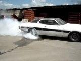'74 Dodge Charger Burnout