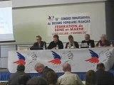 Congrès départemental du Secours populaire Français