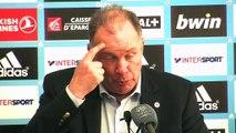 La déception de Jean Fernandez le coach de Montpellier