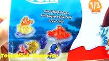 Ψάχνοντας την Ντόρι Αυγά Έκπληξη Παιχνίδια Kinder Surprise Eggs Finding Dori Edition Movie