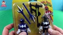 Imaginext Power Rangers Toys - Red Ranger Green Ranger Blue Ranger Black Ranger Battle Rita Repulsa