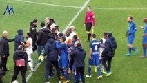 Embrouille Alexy Bosetti au Stade des Alpes