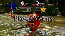 ABM Adventure Gameplay: Sonic vs Knuckles The Black Knight Match!! HD