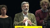 Carles Riera (CUP) avala les acusacions de violència de l'estat espanyol contra els ciutadans