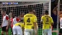 1-1 Damian van Bruggen Amazing Goal Holland  Eredivisie - 18.11.2017 Feyenoord 1-1 VVV Venlo