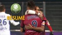 Clermont Foot - AJ Auxerre (1-0)  - Résumé - (CF63-AJA) / 2017-18