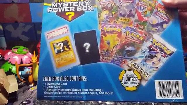 Opening MEGA MYSTERY POWER BOX! VINTAGE POKEMON ITEM PULL! Whats Inside Biggest Mystery Box? MBM #7
