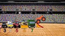 Fiona The Fire Truck and More Big Trucks For Kids | Geckos Garage