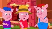 3 CONTES - Les 3 Petits Cochons + Le Loup et les 7 Chevreaux + Le Petit Chaperon Rouge