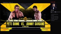 WWE 2K18 NXT TakeOver WarGames UK Title Pete Dunne Vs Johnny Gargano