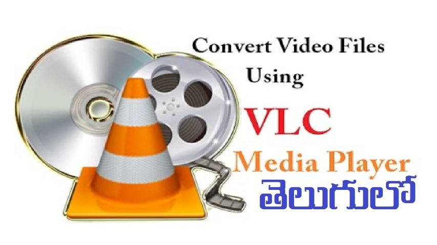 How to Convert Video Files Using Vlc Media Player in Telugu