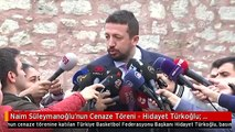 """Naim Süleymanoğlu'nun Cenaze Töreni - Hidayet Türkoğlu: """"Çok Değerli Bir İnsandı"""""""