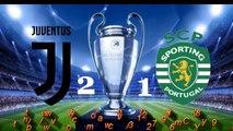 Juventus - Sporting Lisboa 2-1 Zuliani JTV