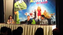 Muppets Most Wanted Press Conference - Kermit the Frog, Miss Piggy, Ricky Gervais, Tina Fey, & more!