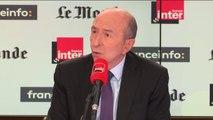 """Les policiers """"resteront armés"""" hors service malgré le drame de Sarcelles, dit Gérard Collomb"""