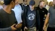 Ed Sheeran Reaches Mumbai Amidst Heavy Security   Ed Sheeran Mumbai Concert