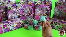 Shopkins Season 5 MEGA Opening 60+ Charers | Mega Packs, BackPacks, 12 Packs | Toy Caboodle